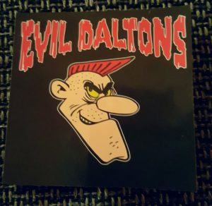 evil daltons sticker